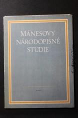 náhled knihy - Mánesovy národopisné studie