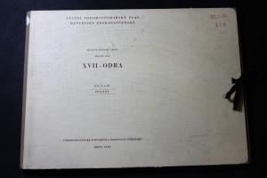 náhled knihy - Hlavní povodí Odry. Dílčí SVP XVII - Odra. Díl II. a III. Přílohy