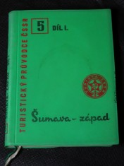náhled knihy - Turistický průvodce ČSSR díl. I -  Šumava - západ