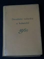 náhled knihy - Divadelní ročenka a kalendář