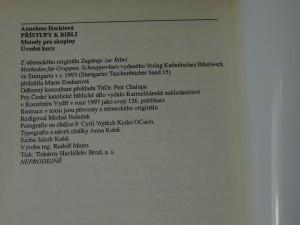 náhled knihy - Přístupy k bibli : metody pro skupiny, úvodní kurz