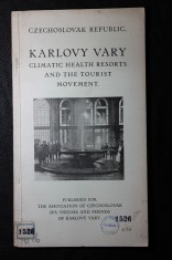 náhled knihy - Karlovy Vary : Climatic Health Resorts and the Tourist Movement