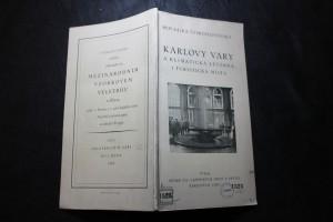náhled knihy - Karlovy Vary a klimatická léčebná i turistická místa.