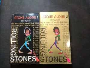 náhled knihy - Stone Alone : the story of a rock'n'roll band