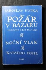 náhled knihy - Požár v bazaru : fejetony z let 1977-1989