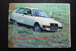 náhled knihy - Oltcit - návod k provozu a údržbě automobilu