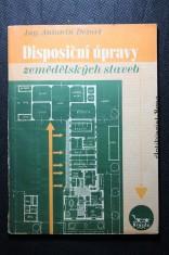 náhled knihy - Disposiční úpravy zemědělských staveb