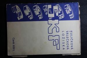 náhled knihy - Kuličková a válečková ložiska SKF
