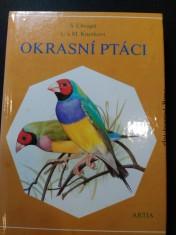 náhled knihy - Okrasní ptáci