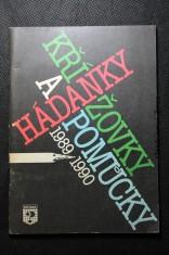náhled knihy - Hádanky, křížovky a pomůcky 1989 - 1990