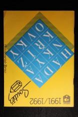 náhled knihy - Hádanky, křížovky a soutež 1991 - 1992