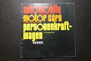 náhled knihy - Automobily - Autopříslušenství. Motor cars - Automobile Accessories. Personenkraftwagen - Autozubehor.