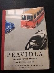 náhled knihy - Pravidla pro dopravní provoz na křižovatkách