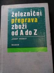 náhled knihy - Železniční přeprava zboží od A do Z