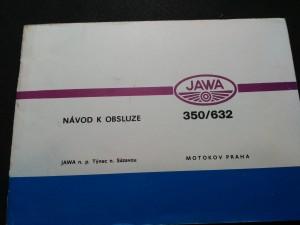 náhled knihy - Návod k obsluze Jawa 350/632