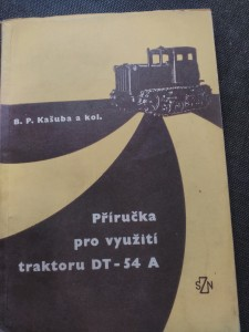 náhled knihy - Příručka pro využití traktoru DT-54 A