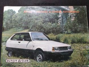 náhled knihy - Oltcit club - Návod k provozu a údržbě automobilu