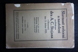 náhled knihy - Slavnost svěcení a nastolení arcibiskupa dr. Ant. C. Stojana v Olomouci dne 3. dubna 1921