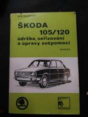 náhled knihy - Škoda 105/120 - údržba, seřizování a opravy svépomocí