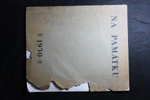 náhled knihy - Na památku studentských slavností při otevření Masarykovy zotavovny u Adamova
