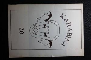 náhled knihy - Karabina 20