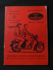 náhled knihy - Nový motocykl  -  technický popis, návod k obsluze a udržování