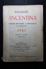 náhled knihy - Kalendář Vincentina. Povídkář, besedník a zpravodaj na obyčejný rok 1943