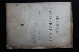 náhled knihy - Sborník typografický