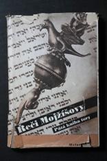 náhled knihy - Řeči Mojžíšovy : Pátá kniha tory