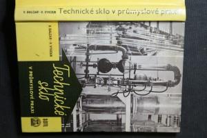 náhled knihy - Technické sklo v průmyslové praxi : Určeno projektantům, konstruktérům a technikům
