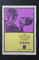 náhled knihy - Jak obsluhovat kuchyňský strojek ETA022