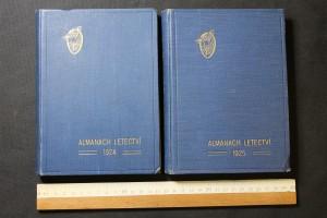náhled knihy - Almanach letectví 1924 + 1925