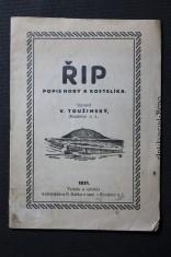 náhled knihy - Řip. Popis hory a kostelíka