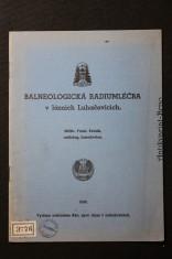 náhled knihy - Balneologická radiumléčba v lázních Luhačovicích