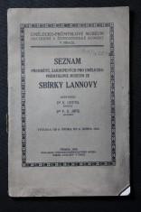 náhled knihy - Seznam předmětů, zakoupených pro Umělecko-průmyslové muzeum ze sbírky Lannovy