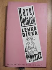 náhled knihy - Lehká dívka a reportér