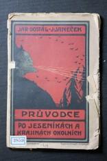 náhled knihy - Průvodce po jeseníkách a krajinách okolních