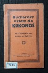 náhled knihy - Bucharovy výlety do Krkonoš : s nejnovějším rozhledem se Sněžky