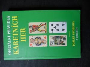 náhled knihy - Oficiální pravidla karetních her