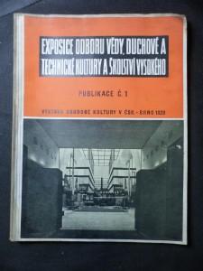 náhled knihy - Expozice odboru vědy, duchové a technické kulturu a školství vysokého