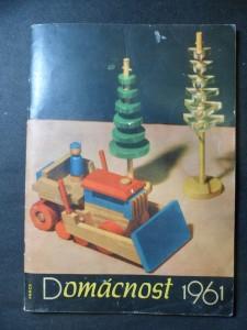 náhled knihy - Domácnost 1961 : [Sborník]. 2. seš.