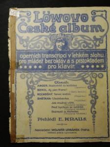 náhled knihy - Löwovo České album operních transcripce