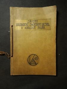 náhled knihy - Závody Královodvorké cementárny akc. spol. v Králově Dvoře