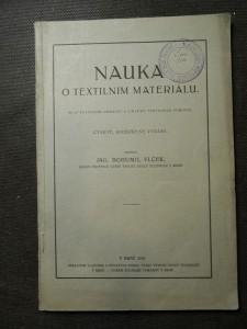 náhled knihy - Nauka o textilním materiálu