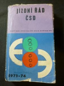 náhled knihy - Jízdní řád ČSD