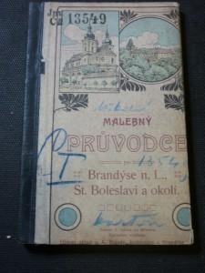 náhled knihy - Malebný průvodce po Brandýse nad Labem, Staré Boleslavi a okolí