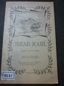 náhled knihy - Hrad Rabí : popis a průvodce