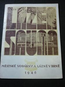 náhled knihy - Městské vodárny a lázně v Brně