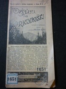 náhled knihy - Vzhůru na Krkonoše