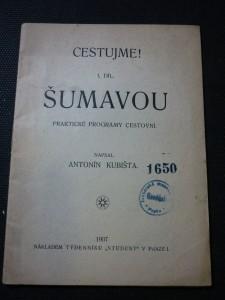 náhled knihy - Cestujeme Šumavou I.